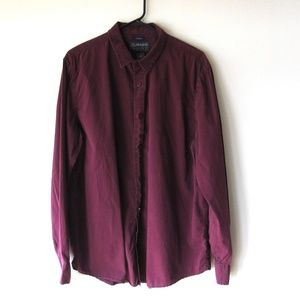 American Rag Long Sleeve Button Front Shirt